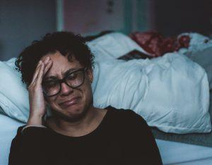 women dealing with trauma
